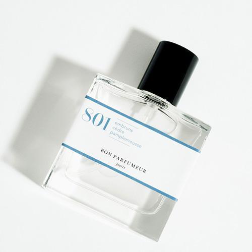 801 Sea Spray, Cedar, Grapefruit Eau de Parfum by Le Bon Parfumeur
