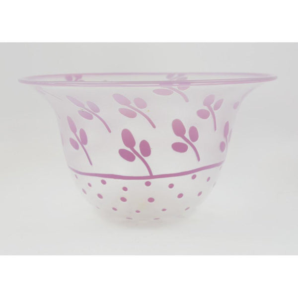 Cameo Glass Bowl by Anna Ehrner for Kosta
