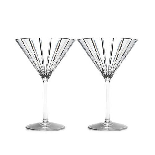 Avenue Martini Glasses, Set of 2 by Rogaska 1665