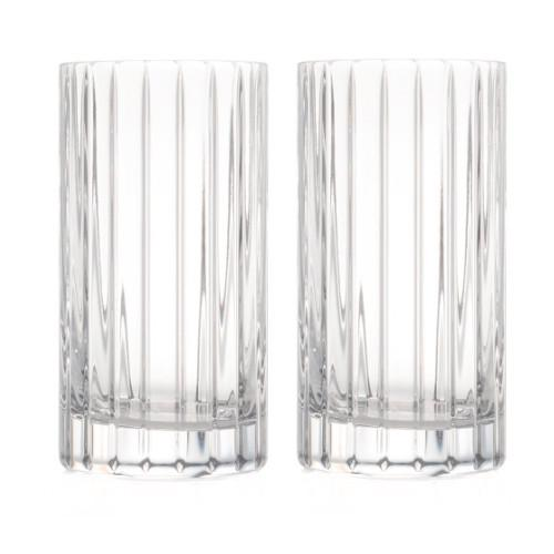 Avenue Highball Glasses, Set of 2 by Rogaska 1665
