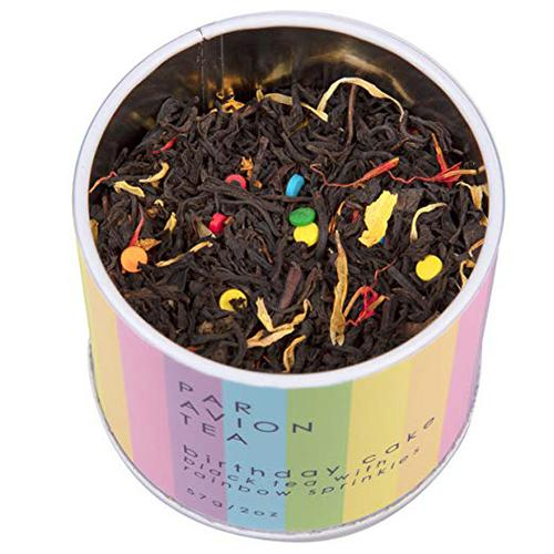 Birthday Cake Tea with Rainbow Jimmies by Par Avion