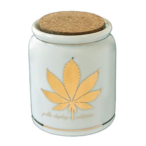 Public Display of Addiction Stash Jar by Devall & Allen