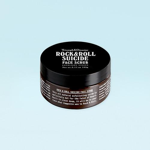 Rock & Roll Suicide Face Scrub by Triumph & Disaster