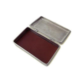 Rectangular Lidded Box by Match Pewter