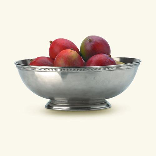 Luna Oval Footed Centerpiece by Match Pewter