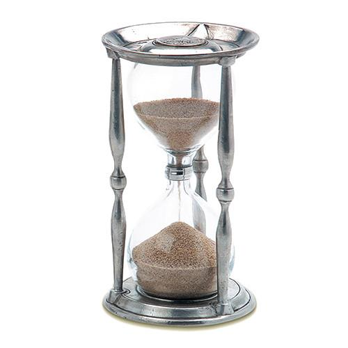 Ancient Coin Hourglass by Match Pewter