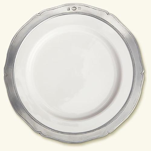 Viviana Salad or Dessert Plate, Set of 4 by Match Pewter