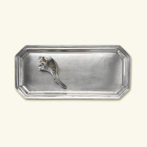Dolomiti Vanity Tray by Match Pewter