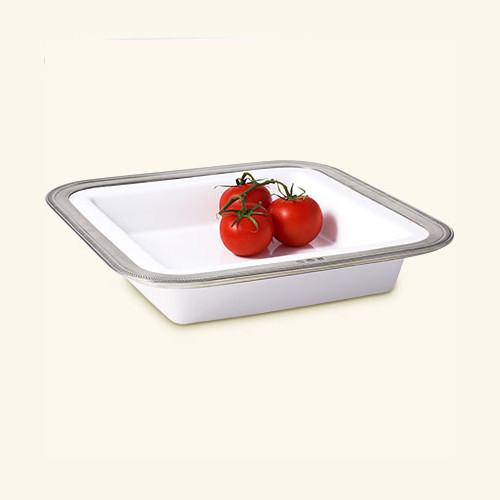 Luisa Square Serving Dish by Match Pewter