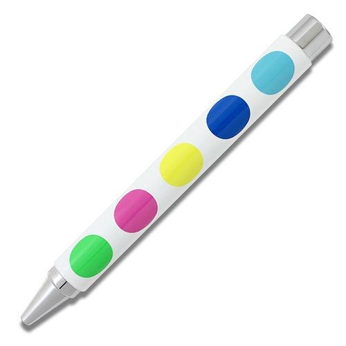Big Dots Retractable Stylo 33 Rollerball Pen by Acme Studio