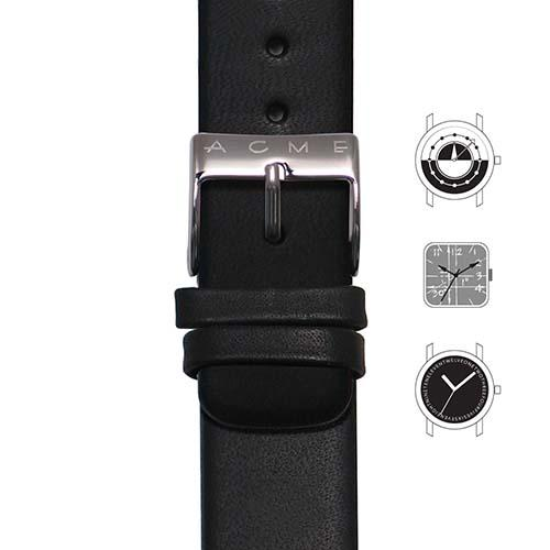 Black Watch Strap for Acme Studio