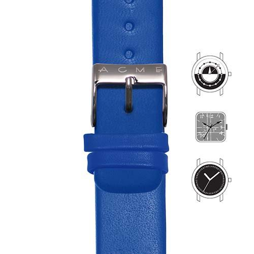 Blue Watch Strap for Acme Studio