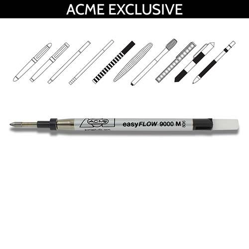 Easy Flow P9000 Roller Ball Refill w/ Parts by Acme Studio