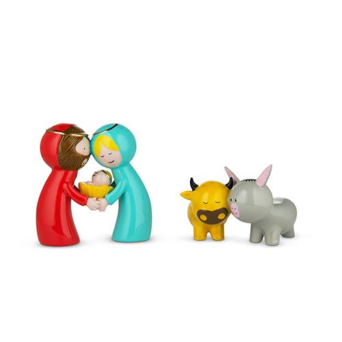 Happy Eternity Baby Figurines by Massimo Giacon & Marcello Jori for Alessi