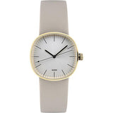 AL5052 Tic15 Quartz Beige Watch by Piero Lissoni for Alessi