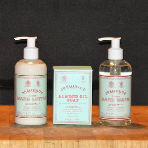 Almond Oil Hand Soap & Lotion by D.R. Harris