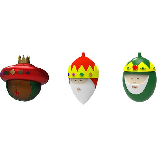 Christmas Ornaments, The Three Wise Guys by Alessi