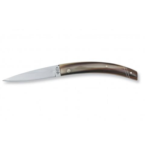No. 53 Abruzzese Italian Regional Pocket Knife with Ox Horn Handle by Berti