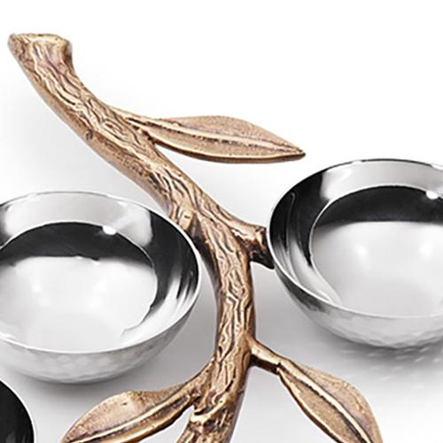 Ambrosia Seder 6 Bowl Set with Branch by Mary Jurek Design