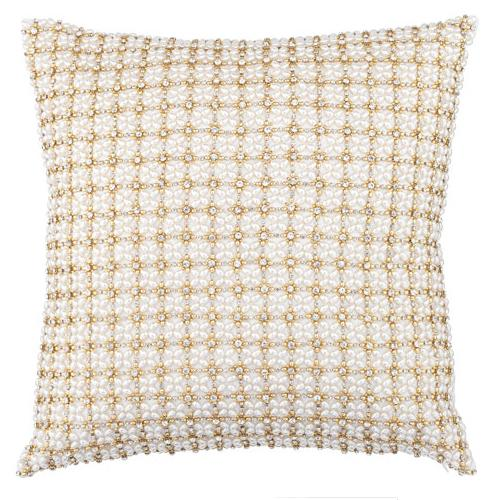 Anna Pillow,  Gold by Olivia Riegel