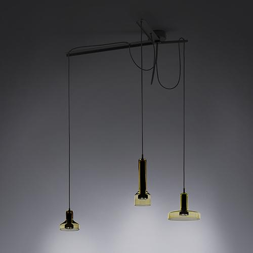 Stab Light Triple Suspension Lamp by Arik Levy for Artemide
