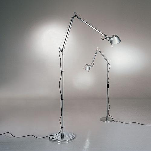 Tolomeo Classic Task Lamp, Floor Version by Michele de Lucchi for Artemide