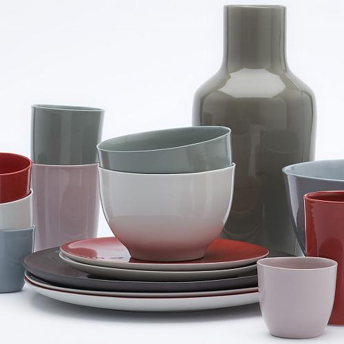 B-Set Bowl by Hella Jongerius for Tichelaar Makkum