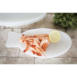 Fish & Fish Deep Dish, Milky White by Paola Navone for Serax
