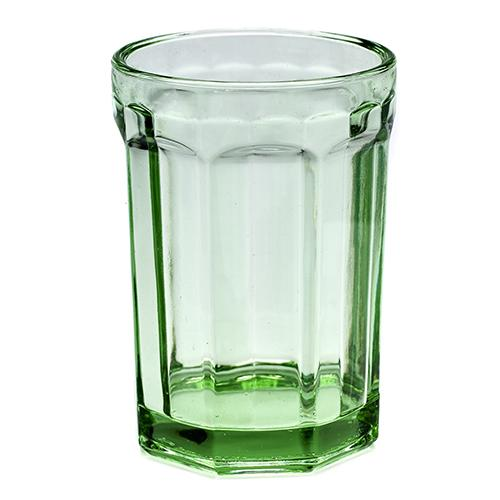 Fish & Fish Jadeite Glass Tumbler by Paola Navone for Serax