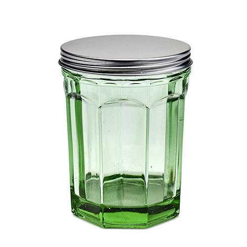 Fish & Fish Jar with Lid, Medium, Green by Paola Navone for Serax