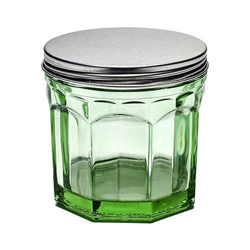 Fish & Fish Jar with Lid, Small, Green by Paola Navone for Serax