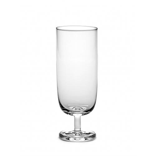 Base 13.5 oz Stemmed Beer Glass by Piet Boon for Serax, Set of 4