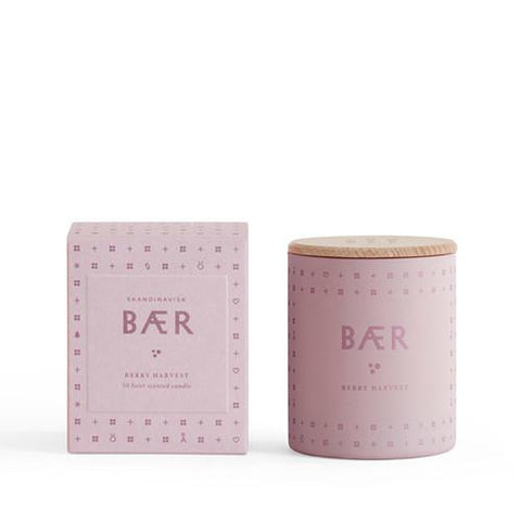 Baer 'Berry' Candle by Skandinavisk