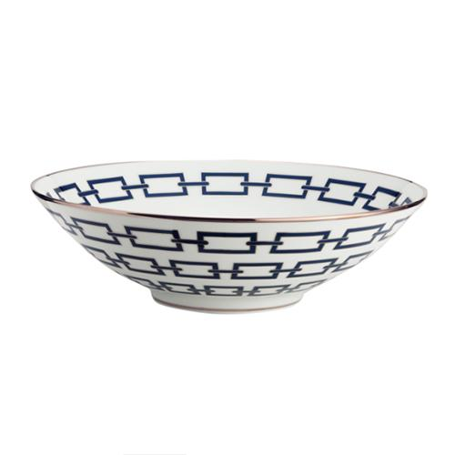 "Catene Serving Bowl, 16.5"", Blue by Gio Ponti for Richard Ginori"