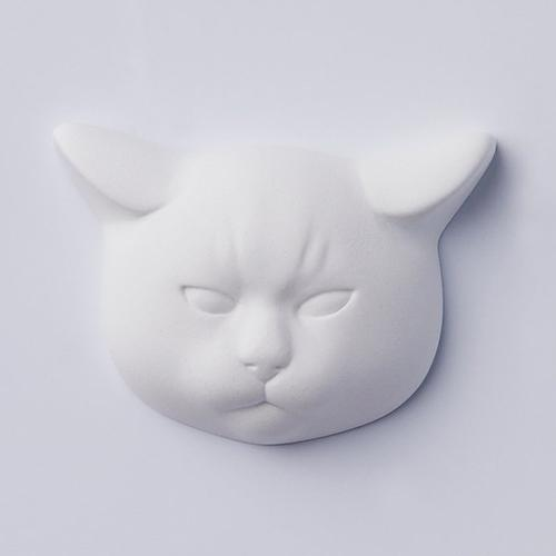 Pissed Off Cat Figural Diffuser by Ballon Japan