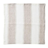 Baltic Linen Napkin, Ivory/Beige, set of 4 by Kim Seybert