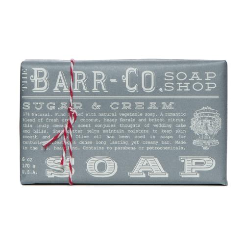 Barr-Co. Soap Shop Sugar & Cream Bar Soap