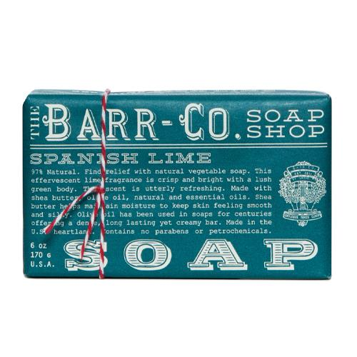 Barr-Co. Soap Shop Spanish Lime Bar Soap