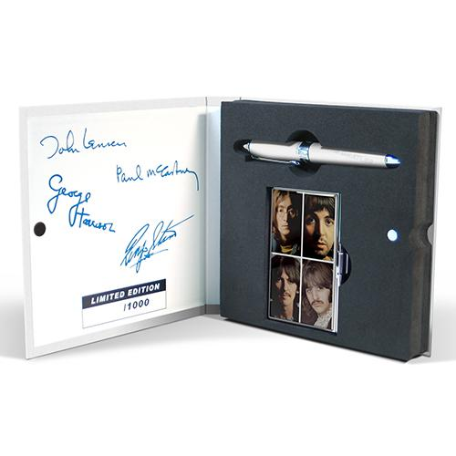 The Beatles White Album Limited Edition Pen & Card Case Set by Acme Studio