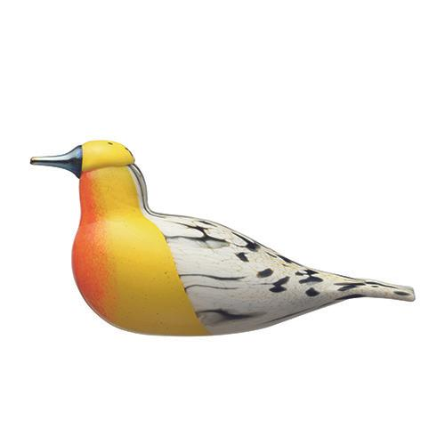 2017 FinnFest Blackburnian Warbler Art Glass Bird by Oiva Toikka for Iittala