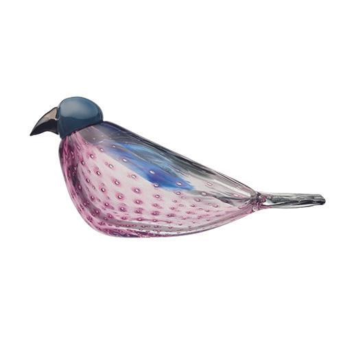 American Kestrel Art Glass Bird by Oiva Toikka for Iittala