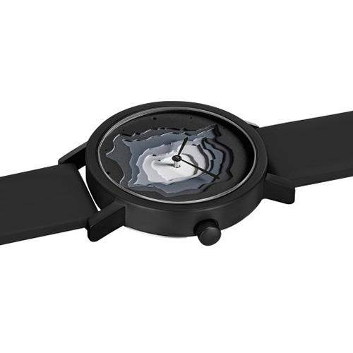 Terra Time Watch, Black by James Wines for Projects Watches