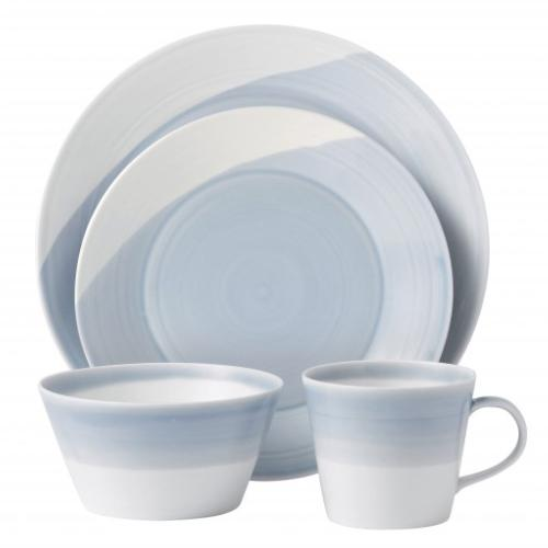 1815 Blue 4-Piece Place Setting by Royal Doulton