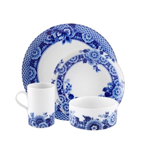 Blue Ming 4-Piece Placesetting by Marcel Wanders for Vista Alegre
