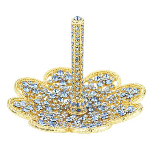 """Blue Topaz"" Ring Holder by Olivia Riegel"
