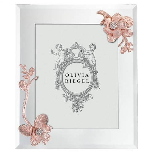 Botanica 8x10 Frame, Rose Gold by Olivia Riegel
