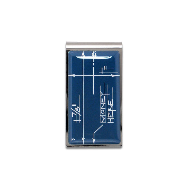 Blueprint Money Clip by Constantin Boym for Acme Studio