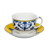 Castelo Branco Breakfast Cup and Saucer by Vista Alegre