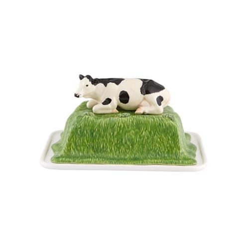 Meadow Butter Dish by Bordallo Pinheiro