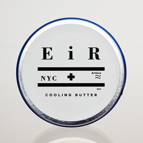 Cooling Butter with Arnica by EiR NYC